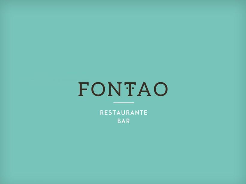 IDENTIDAD CORPORATIVA RESTAURANTE FONTAO 3