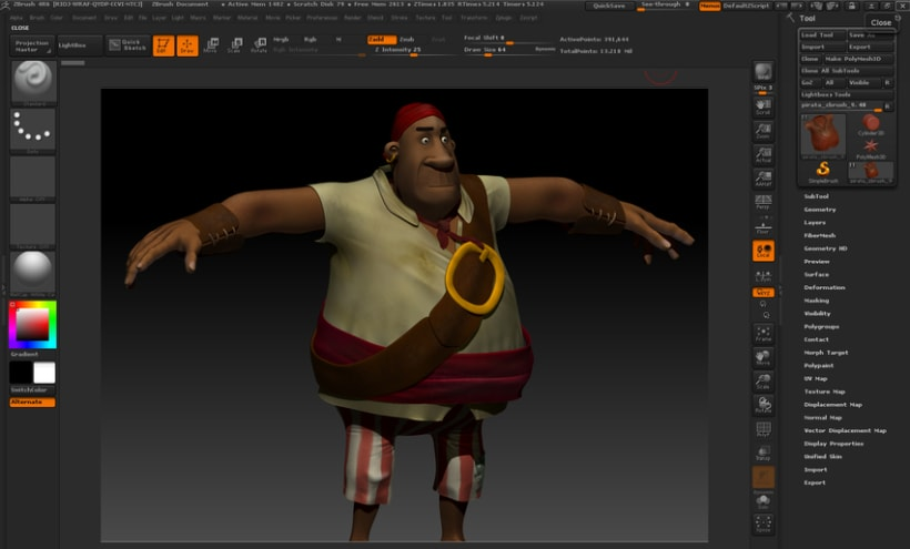Hungry Pirate (Trabajo Postgrado) 4