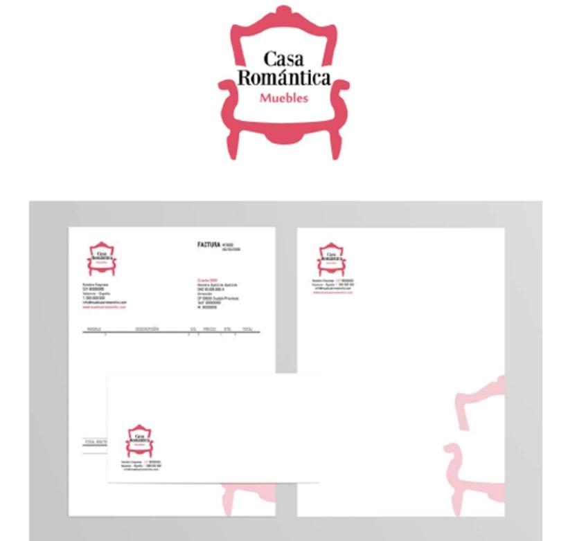 Imagen Corportativa y Tienda Online - Casa Romántica 1