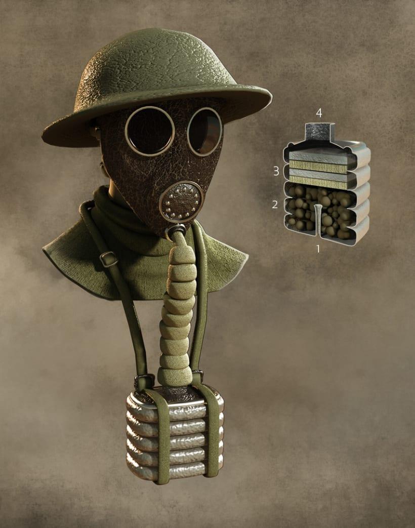 Tecnología de la I Guerra Mundial, Quo Julio 2014 10