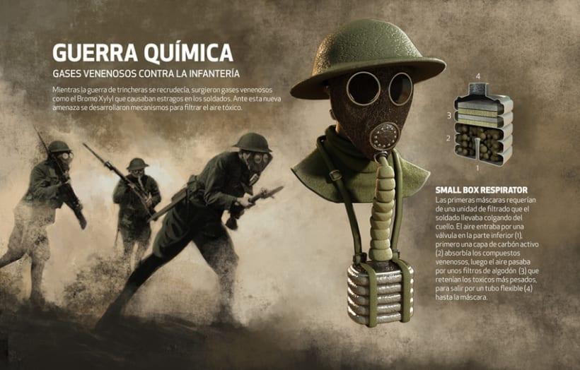 Tecnología de la I Guerra Mundial, Quo Julio 2014 8