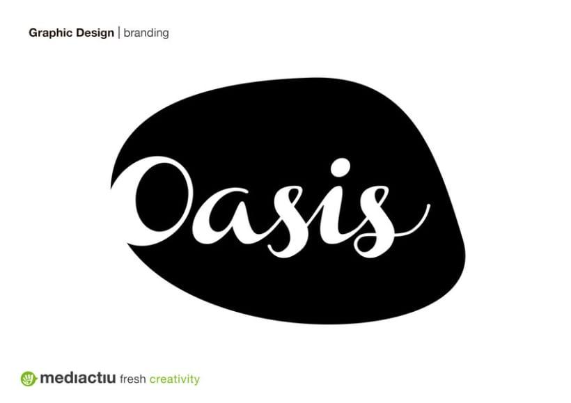 Oasis, branding 0