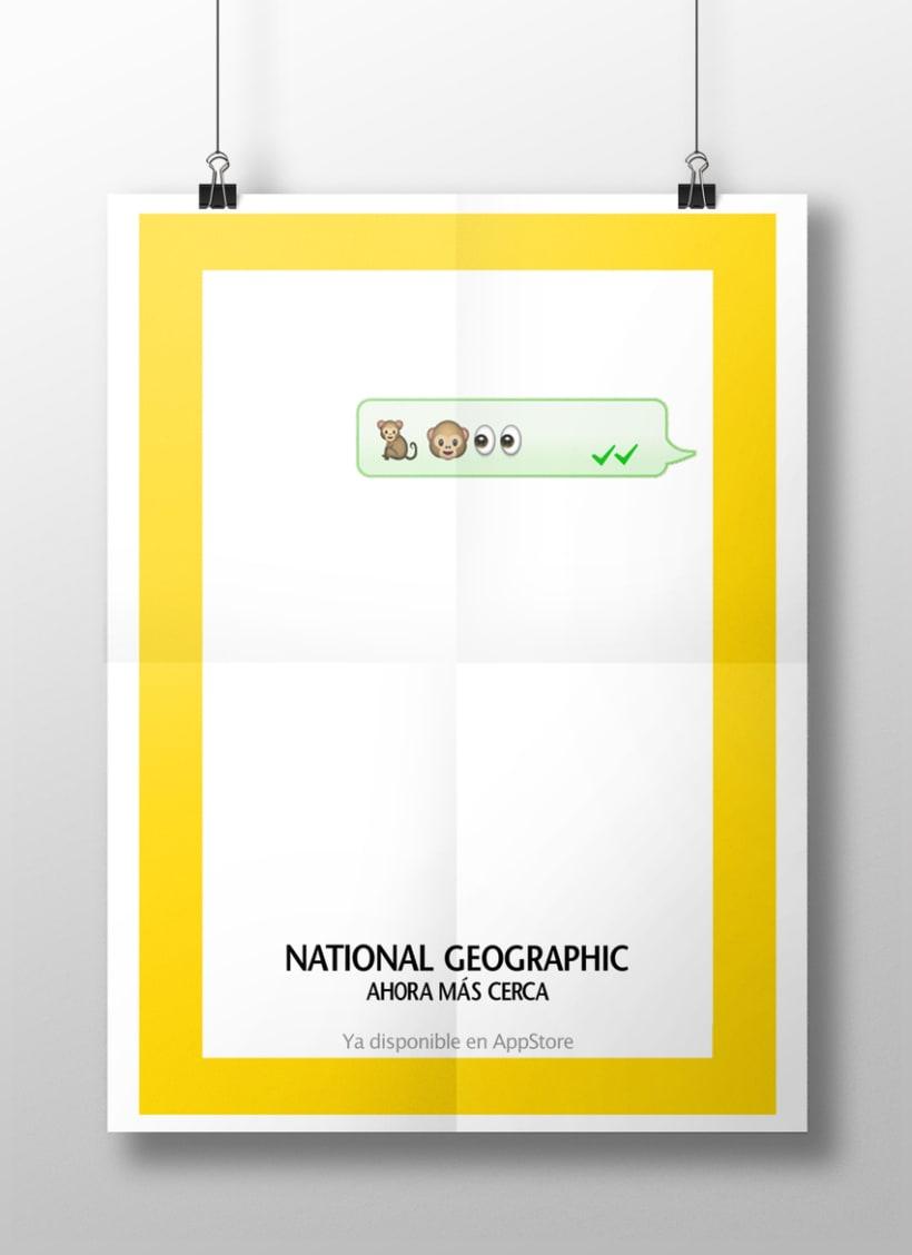 """National Geographic: """"Ahora más cerca"""" -1"""