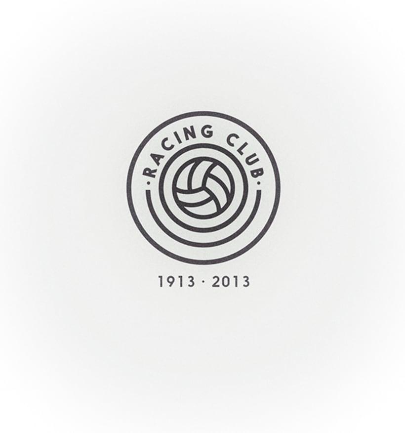 Rediseño del escudo del Racing Club de Santander 1