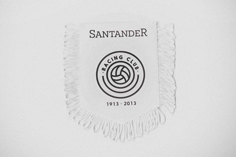 Rediseño del escudo del Racing Club de Santander 5