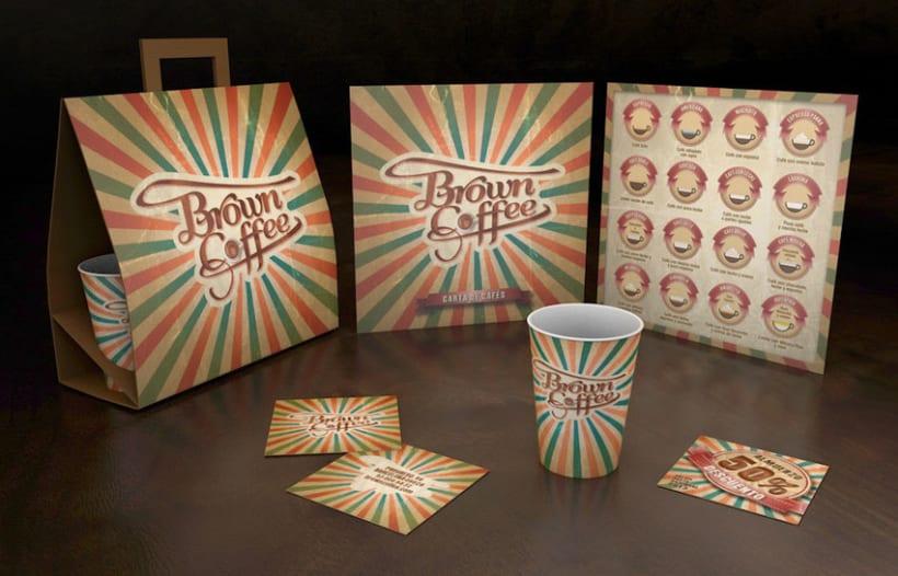 Brown Coffee (Branding / Packaging) 0