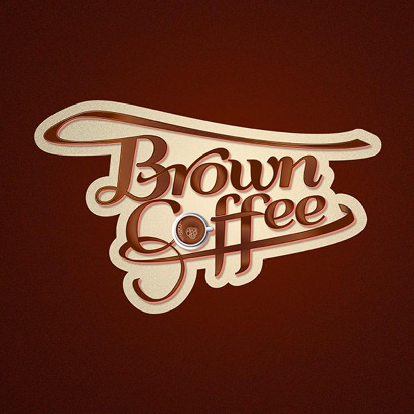 Brown Coffee (Branding / Packaging) 2
