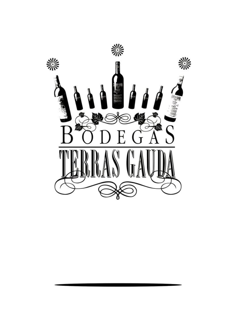 Cartel Bodegas TERRAS GAUDA 0