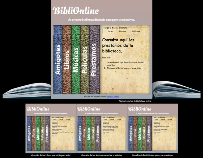 Web Biblioteca Online 2