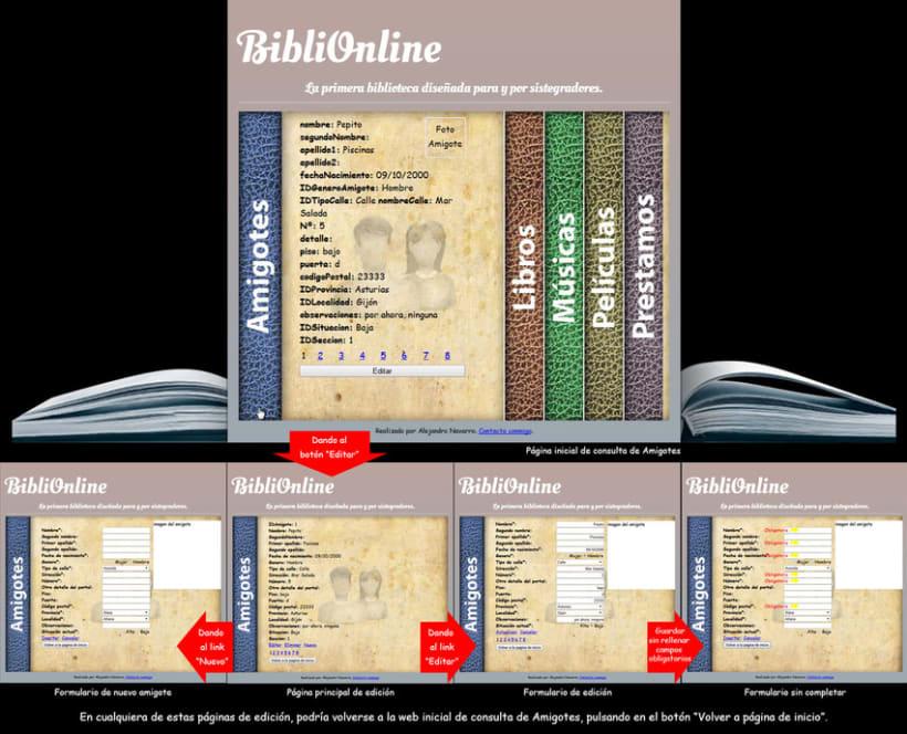 Web Biblioteca Online 4