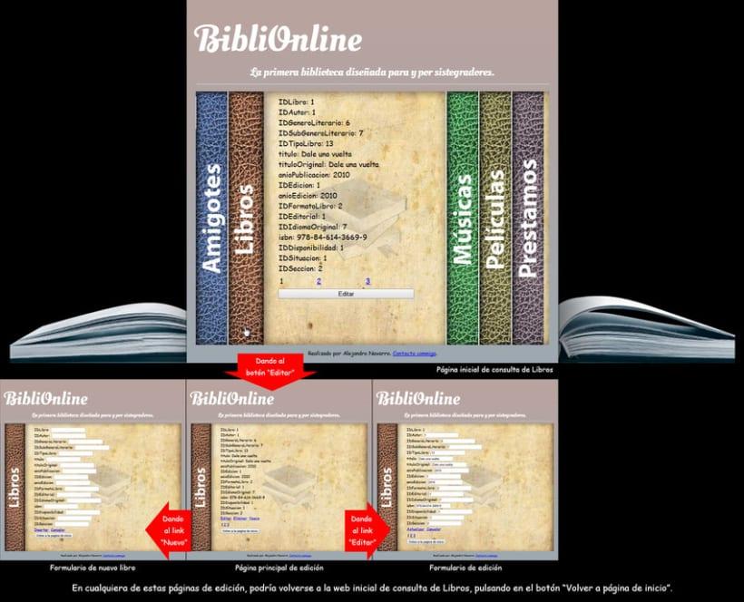 Web Biblioteca Online 6