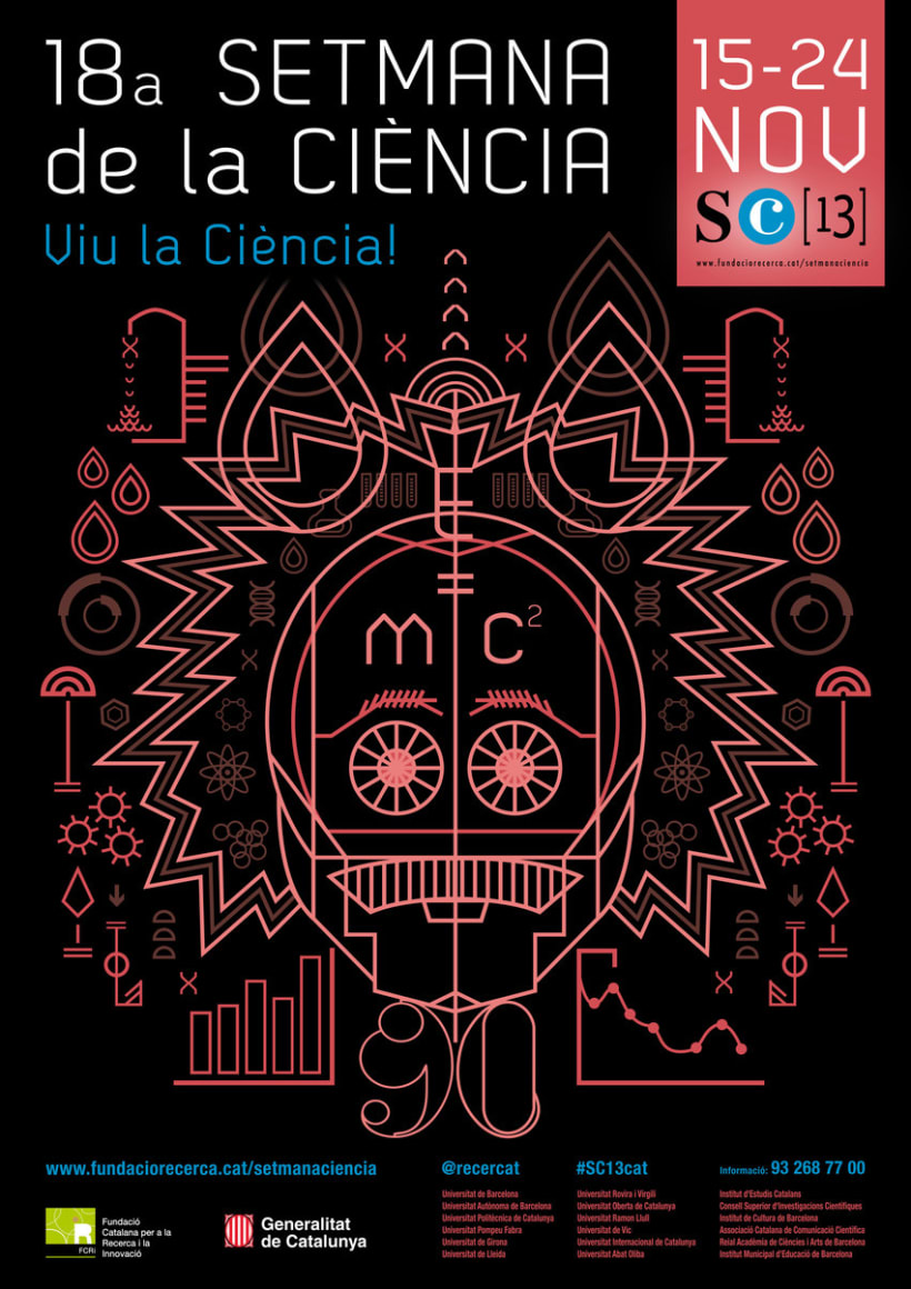 Cartell 18a Setmana de la ciència 1