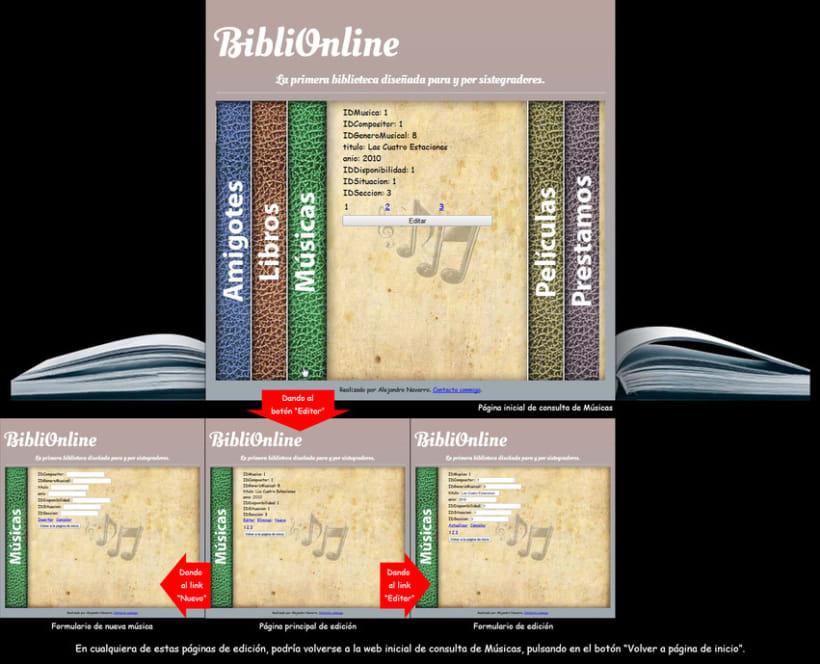 Web Biblioteca Online 8