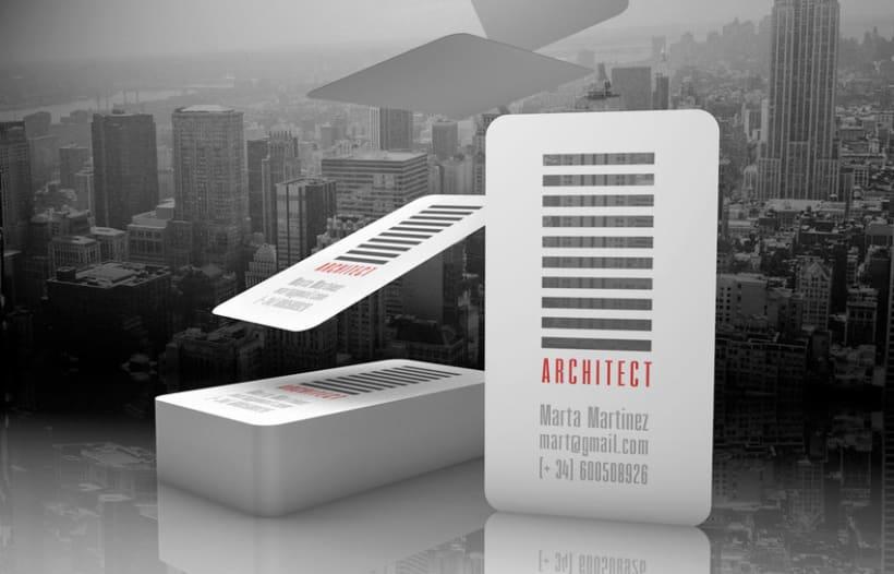 Tarjetas corporativas (Arquitectos) -1