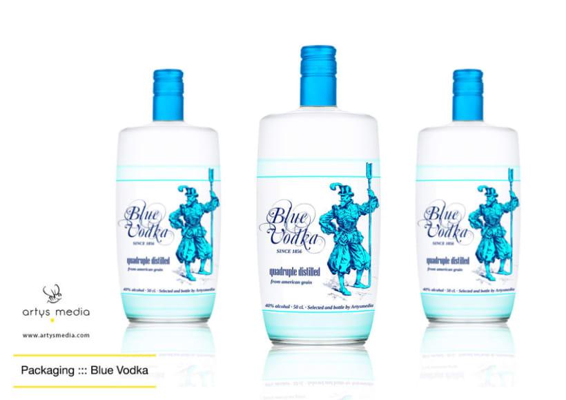 Blue Vodka 1