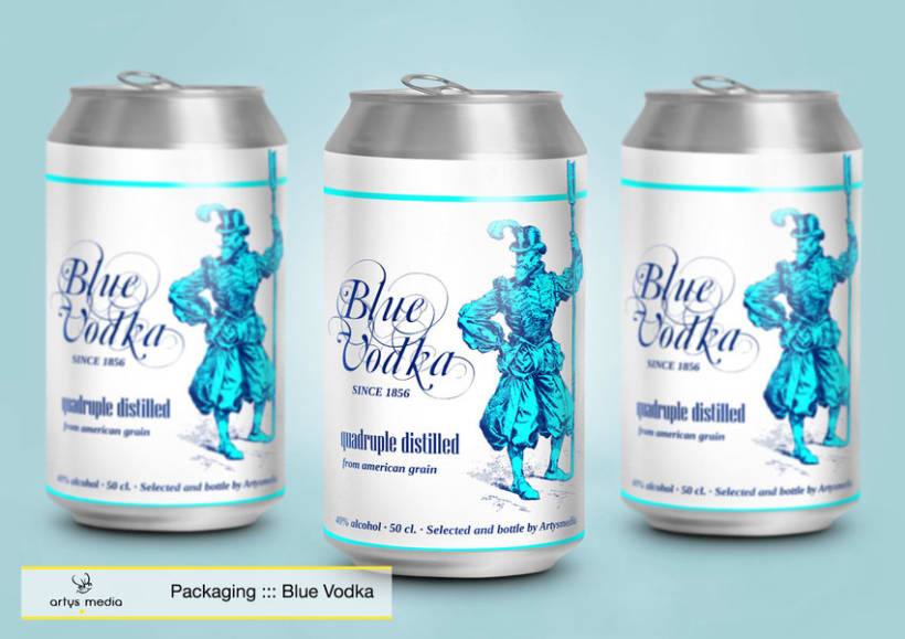 Blue Vodka 2