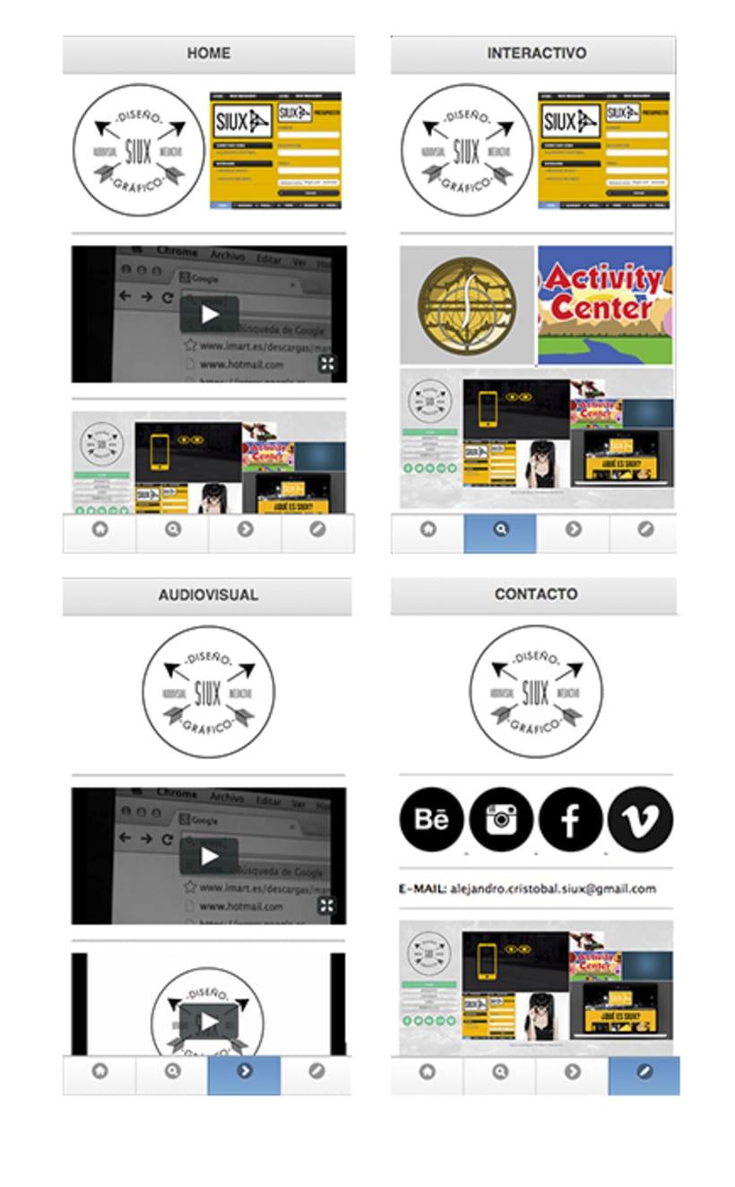Web Corporativa para Móvil 1