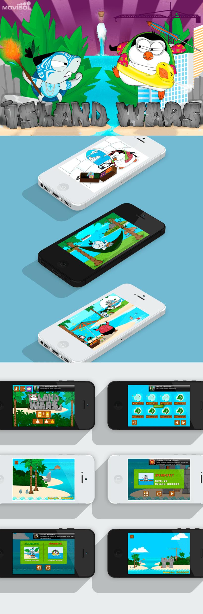 Juego Island Wars para IOS 1