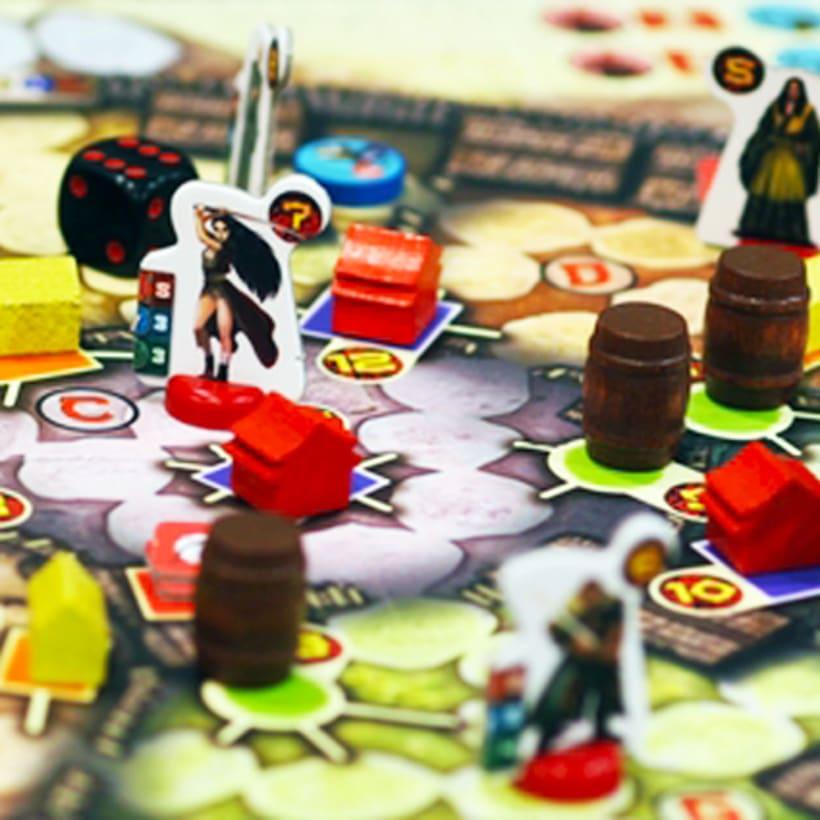 Seven Swords - Diseño y producción de juego de mesa 1