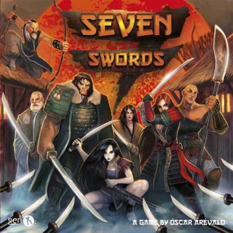 Seven Swords - Diseño y producción de juego de mesa 3