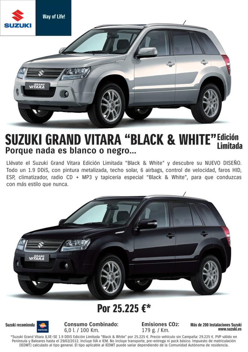 Gráficas Suzuki Grand Vitara (2012 - 2013). 1
