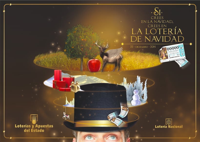 Cartel Lotería Navidad 2014. 1