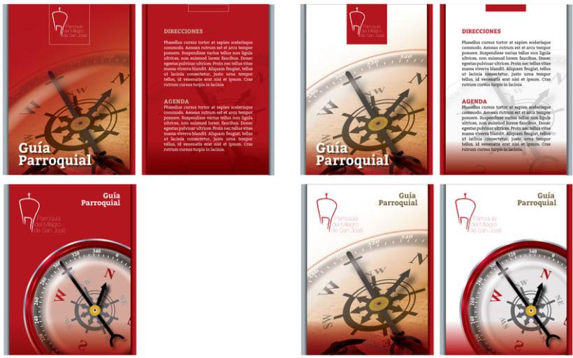 Diseño de Logotipo, Web y folletos - Parroquia El Milagro de San José 8