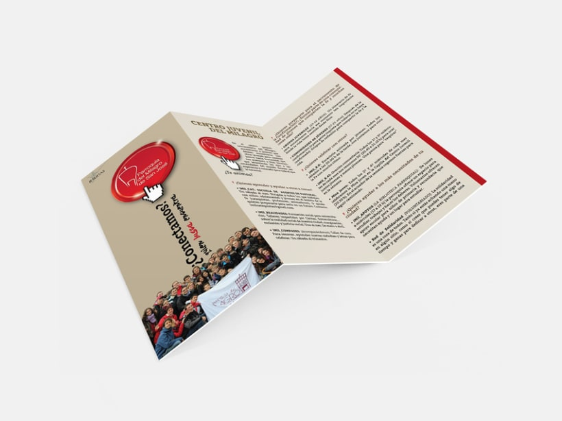 Diseño de Logotipo, Web y folletos - Parroquia El Milagro de San José 9