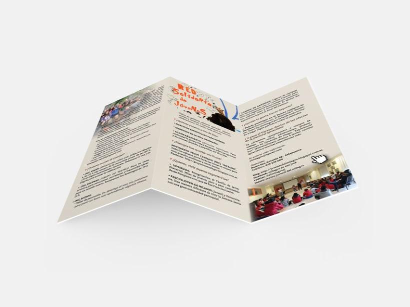 Diseño de Logotipo, Web y folletos - Parroquia El Milagro de San José 10