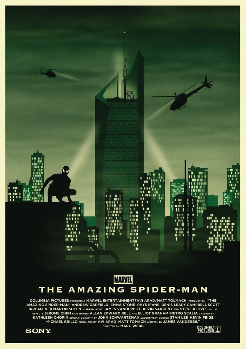 The Amazing Spider-Man Trilogía (inacabada) 2