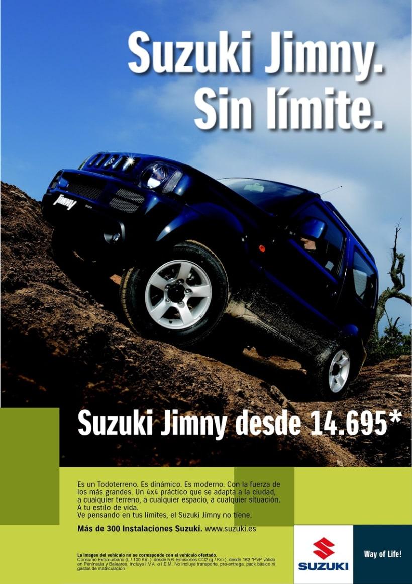 Gráficas Suzuki Jimny (2009 - 2012). 0