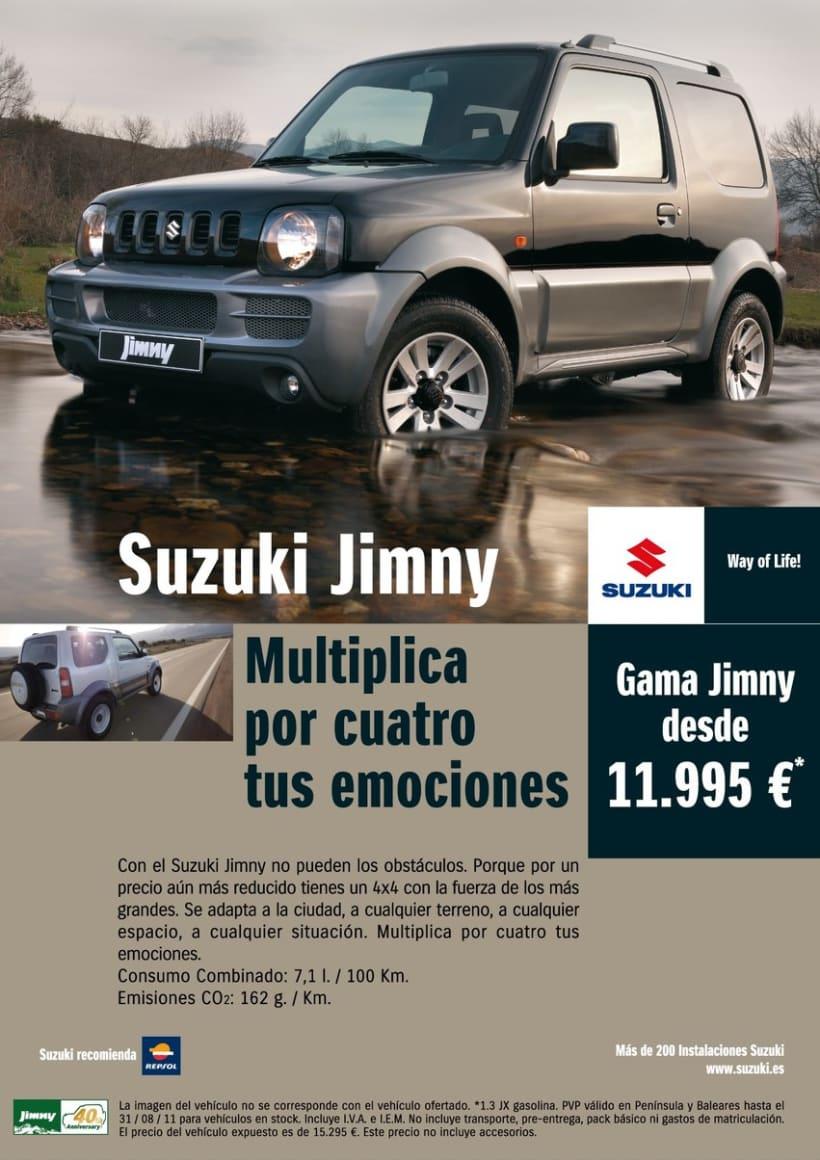 Gráficas Suzuki Jimny (2009 - 2012). 1
