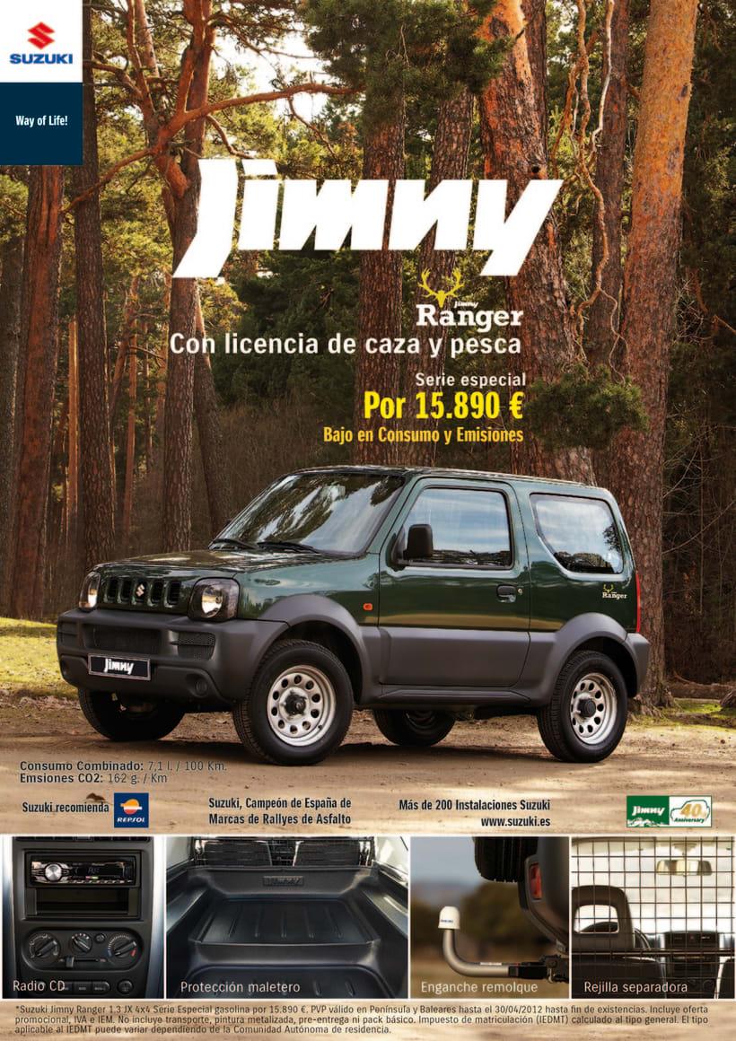 Gráficas Suzuki Jimny (2009 - 2012). 2