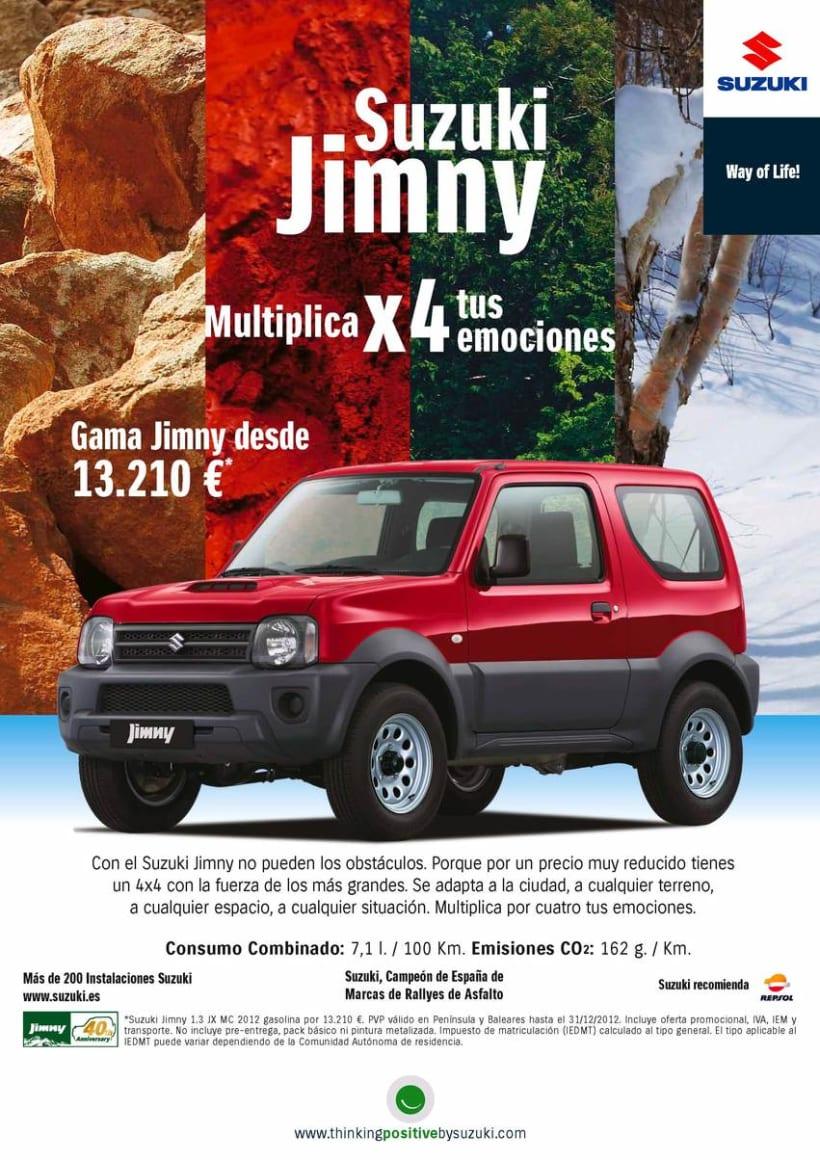 Gráficas Suzuki Jimny (2009 - 2012). 3