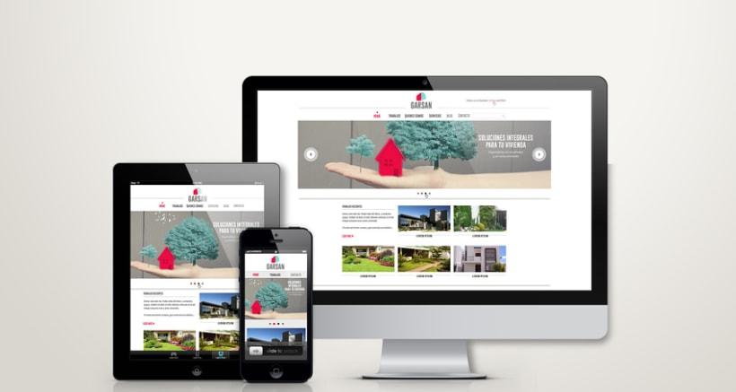 Diseño web Garsan 0