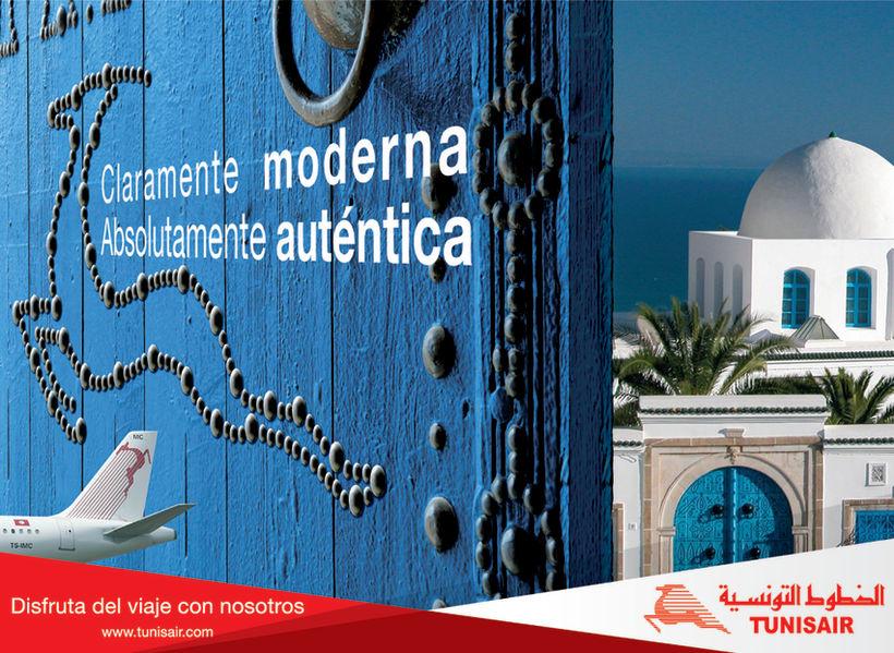 Gráfica Tunisair. 0