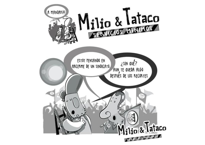 Milio&Tataco ( tiras cómicas periódicos ) 9