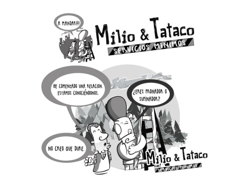 Milio&Tataco ( tiras cómicas periódicos ) 4