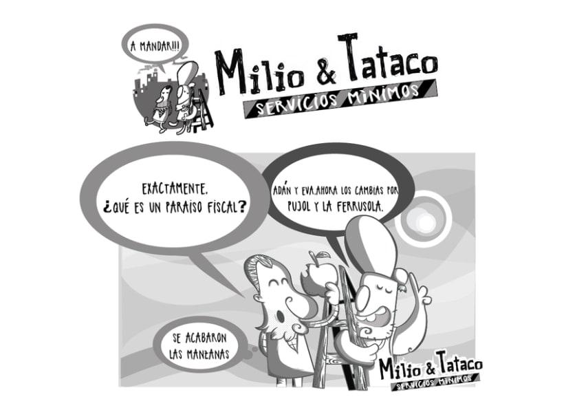 Milio&Tataco ( tiras cómicas periódicos ) 5