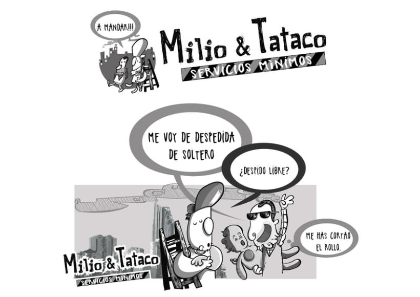Milio&Tataco ( tiras cómicas periódicos ) 6