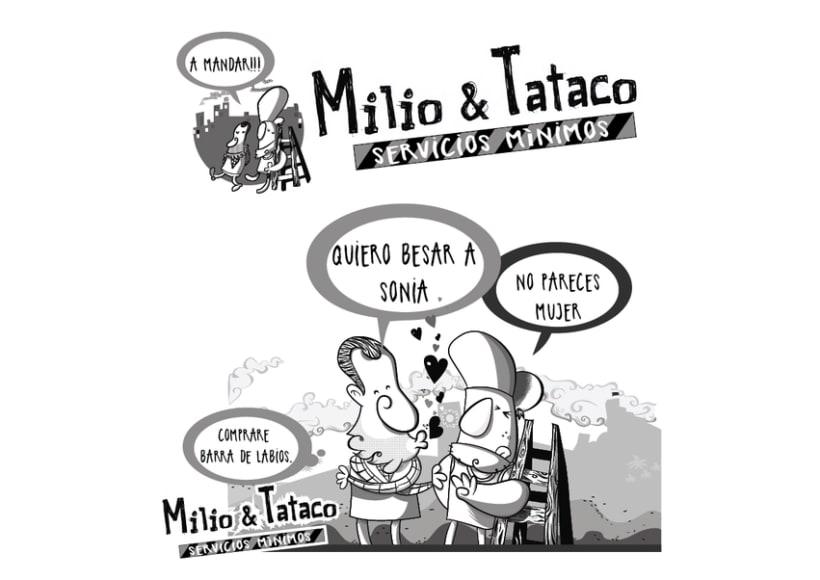 Milio&Tataco ( tiras cómicas periódicos ) 7