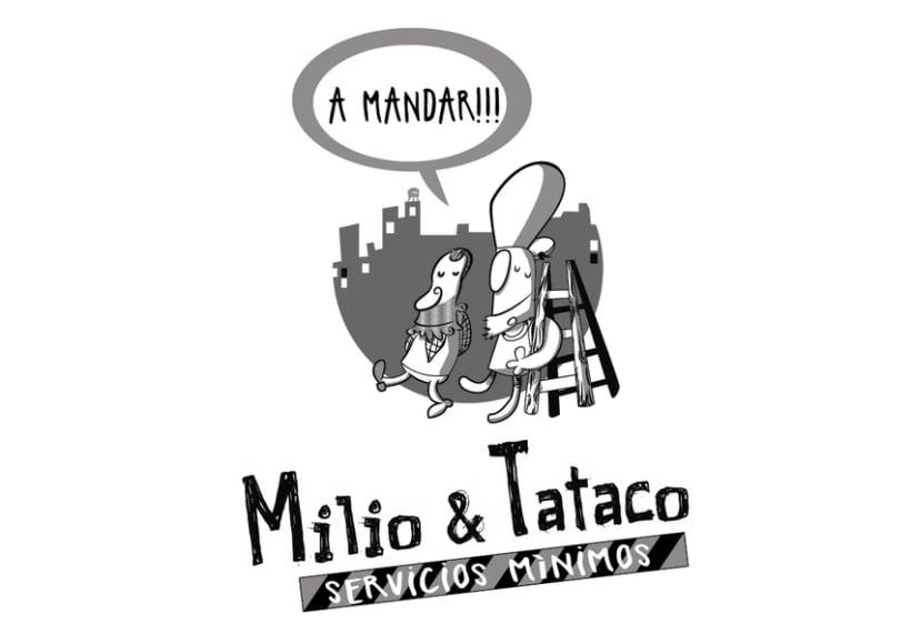 Milio&Tataco ( tiras cómicas periódicos ) 0