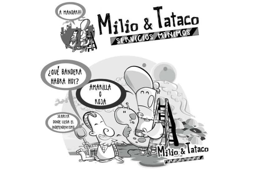 Milio&Tataco ( tiras cómicas periódicos ) 8