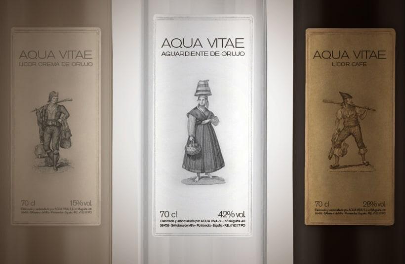 Aqua Vitae aguardiente 1