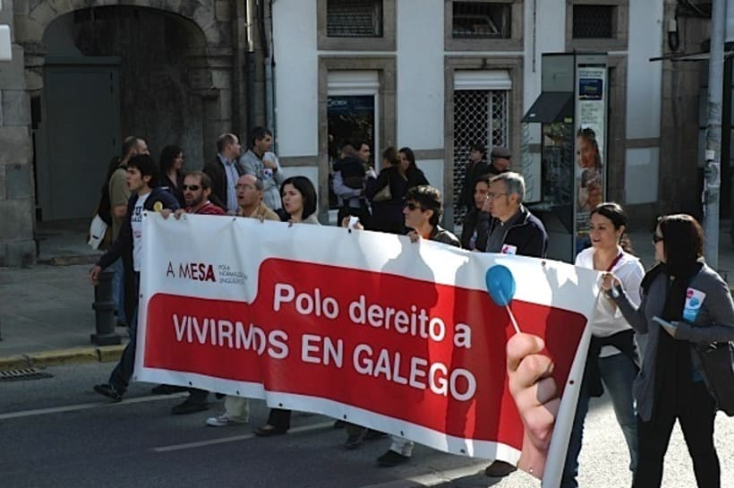 Campaña para A Mesa pola Normalización Linguistica. Galiza 3