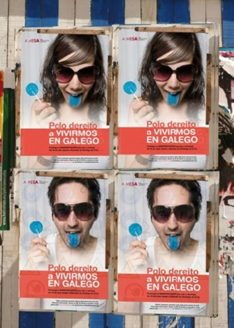 Campaña para A Mesa pola Normalización Linguistica. Galiza 0