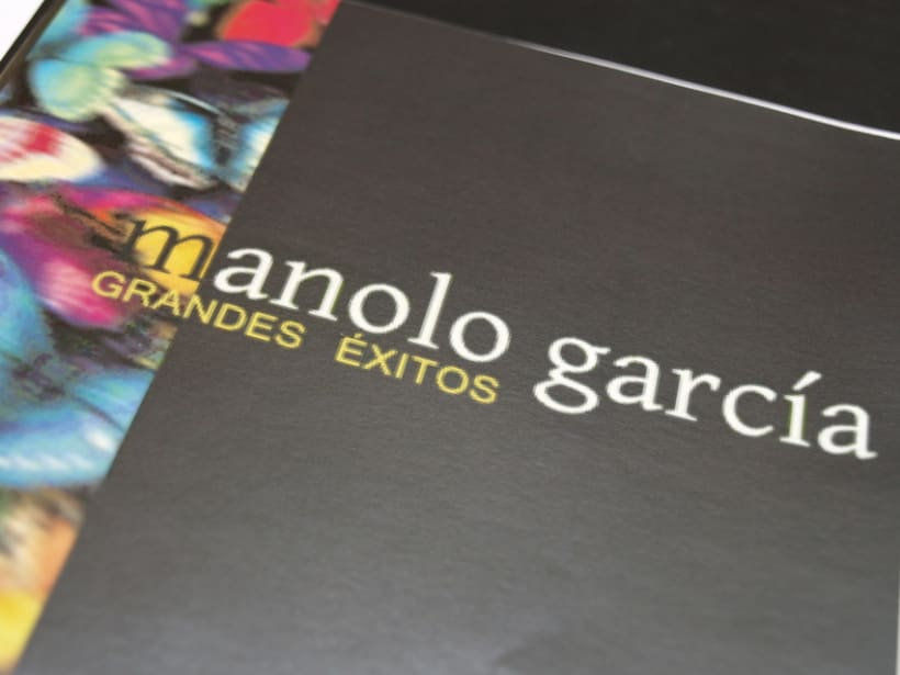 "PACKAGING ""manolo garcía grandes éxitos"" 0"