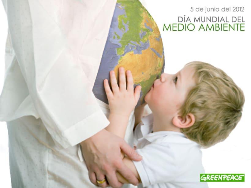 """CARTEL """"día mundial del medio ambiente"""" -1"""