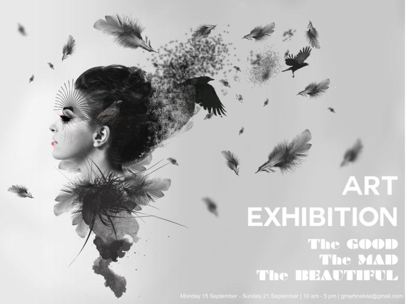 Póster Art Exhibition 0