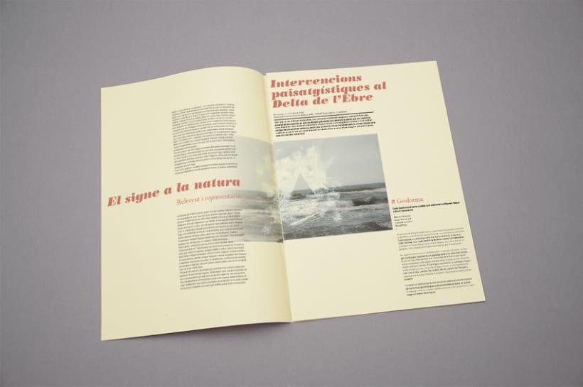 "Proyecto editorial ""El signe a la natura"" 2"